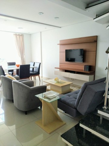 Apartamento Duplex Mobiliado - Alto Padrão - Centro - Foto 4