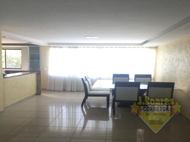 Ponta de Campina, Mobiliado, 4 suítes, 206m², R$ 5000 C/Cond, Aluguel,Apartamento,Cabedelo - Foto 2