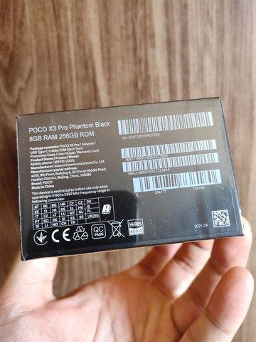 Xiaomi poco X3 PRO 256GB 8GB RAM LACRADO PRONTA ENTREGA PRETO  - Foto 2