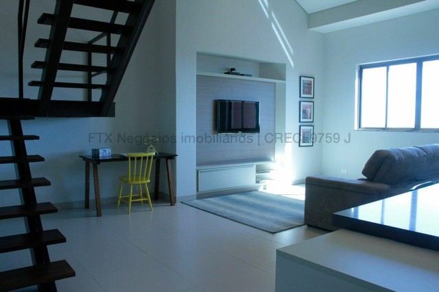 Lindo Flat mobiliado e decorado - Cobertura - Santa Fé - Foto 12