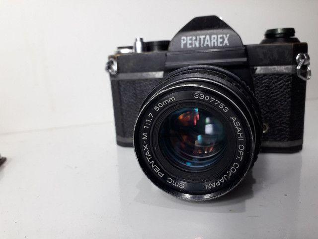 Câmera fotográfica antiga Pantarex  *aceito Cartão  - Foto 4