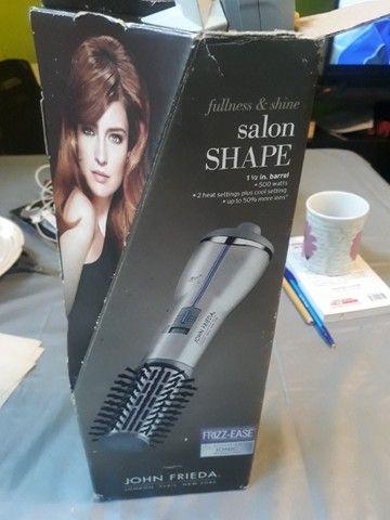 Escova de cabelo  salon shape