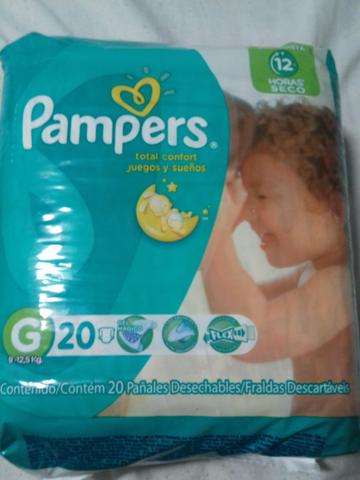 Fraldas PAMPERS TOTAL CONFORT