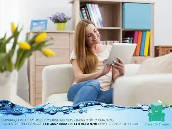 Higienização de tapetes *poltronas *colchões *sofás.