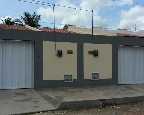 Casa Plana, 2 Quartos a Pronta Entrega No Lameirão, Maranguape - CE