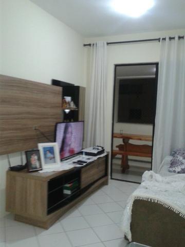 Apartamento 3/4 com uma suite, piscina, quadra, academia, no Imbui