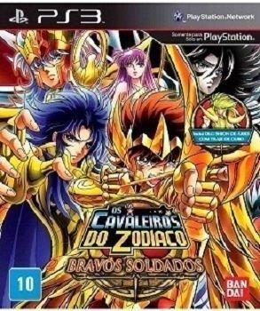 Os Cavaleiros do Zodiaco Bravos Soldados de Play 3