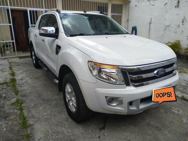 Vendo ou Troco Ranger Limited 13/14 Diesel - Foto 2