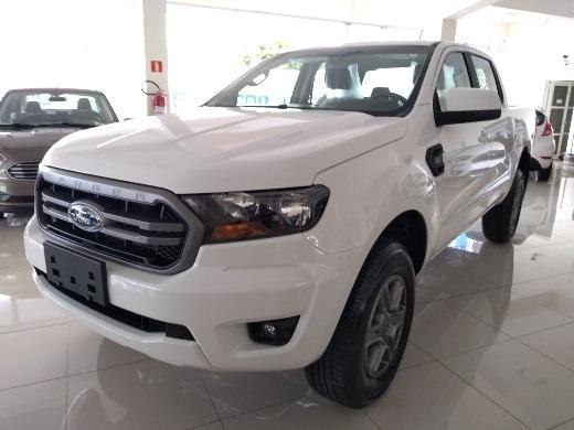 Ford Ranger XLS 2.2 4x4 Diesel Automática 19/20 0km IPVA 2020 pago