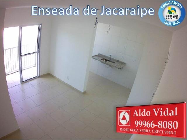 ARV 166- Apto 2 Q, Varanda,Suíte,Piscina em Jacaraipe próximo a praia - Foto 14