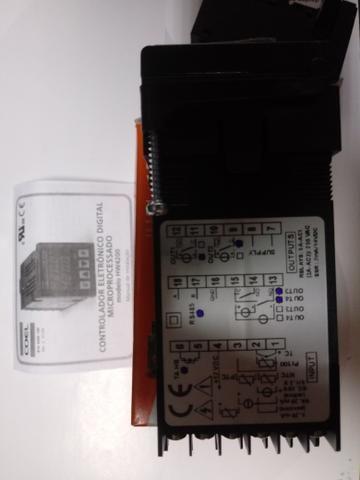 Controlador De Temperaratura Termostato Coel Hw4200/r-4qcs - Novo Na Caixa - Foto 3