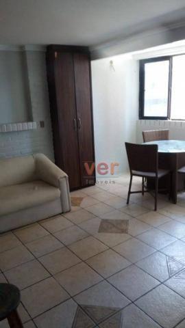 Apartamento para alugar, 60 m² por R$ 1.500,00/mês - Meireles - Fortaleza/CE - Foto 8