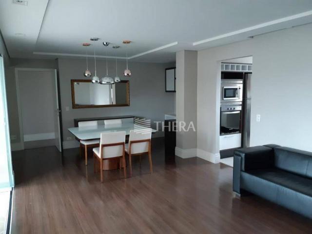 Apartamento com 3 dormitórios para alugar, 135 m² por r$ 5.000/mês - vila léa - santo andr