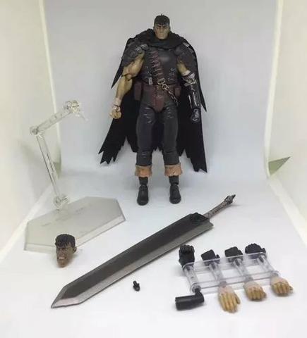 Berserk - Guts Black Swordsman Ver. Repaint Ed - Figma 359 - Foto 3