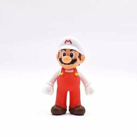 3 Bonecos Super Mario Bros Yoshi, Luigi, Mario Grandes 13cm - Foto 6