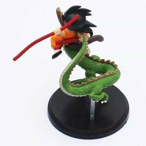 Boneco Goku Menino & Dragão Shenron Dragon Ball Z Toy 17cm - Foto 4