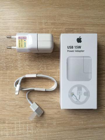 Carregador iPhone original R$60