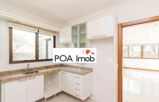 Apartamento semimobiliado com 3 dormitórios no petrópolis - Foto 7