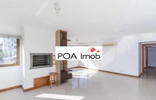 Apartamento semimobiliado com 3 dormitórios no petrópolis - Foto 2