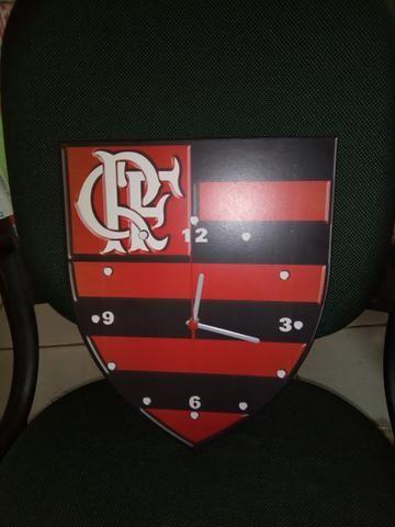 Relógio Flamengo parede