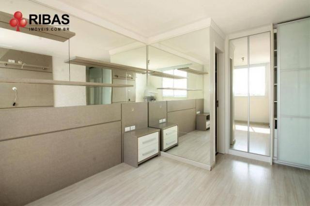 Apartamento com 3 dormitórios para alugar, 78 m² por r$ 2.000,00/mês - capão raso - curiti - Foto 19