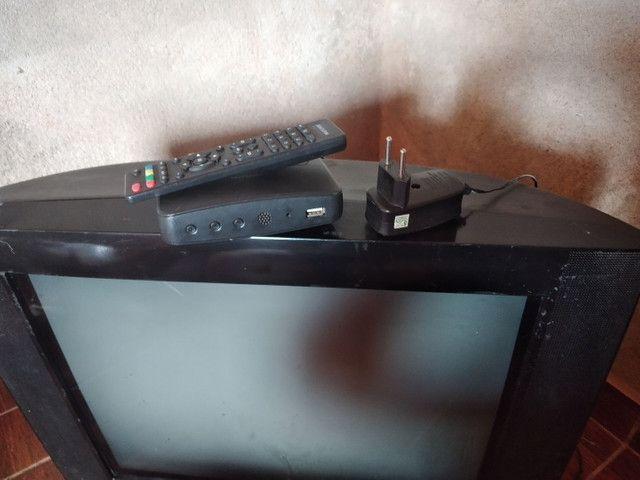 vendo tv com converso - Foto 2