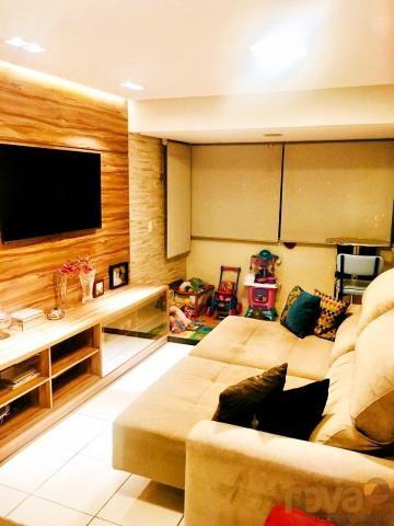 Apartamento à venda com 3 dormitórios em Parque amazônia, Goiânia cod:NOV235844 - Foto 8