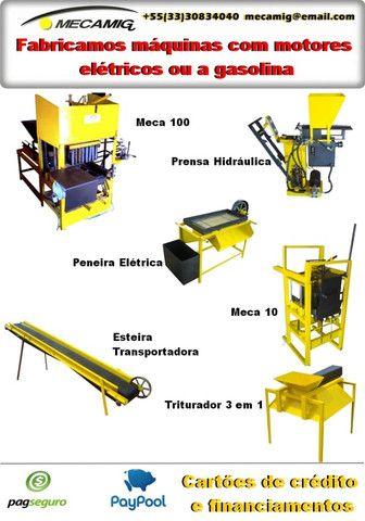 Prensa Manual de tijolo ecologico Eco combo - Foto 2