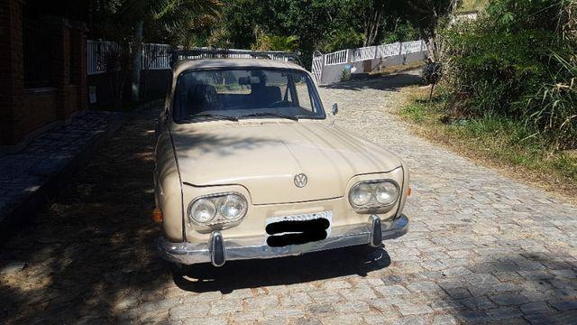 Volkswagen Variant Bege 1970 - Foto 7