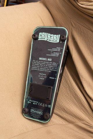 Pedal de Wahwah Dunlop CryBaby 95Q c/ Boost - Foto 5