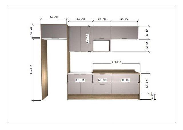 Cozinha Planejada Projeto De Orçamento - Foto 3