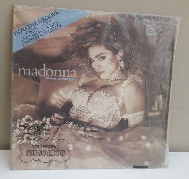 Vinil Madonna Like a Virgin