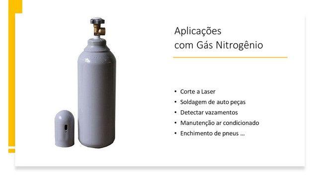 Regulador de Pressão 180psi + Cilindro 7L Nitrogênio Refrigeração Novo - Foto 5