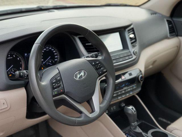 New Tucson GLS 1.6 turbo + interior bege + teto panorâmico - Foto 14