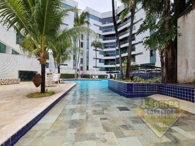 Ponta de Campina, Mobiliado, 4 suítes, 206m², R$ 5000 C/Cond, Aluguel,Apartamento,Cabedelo - Foto 18