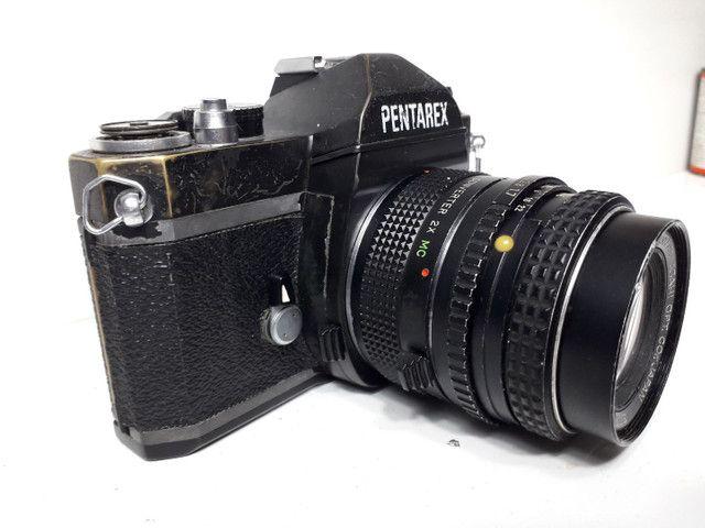 Câmera fotográfica antiga Pantarex  *aceito Cartão  - Foto 2