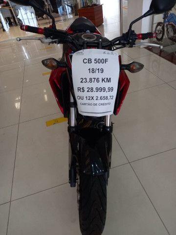 Cb 500F 18/19 Impecável R$ 28.998,99 OU 12x 2.658,72 NO CARTÃO - Foto 3