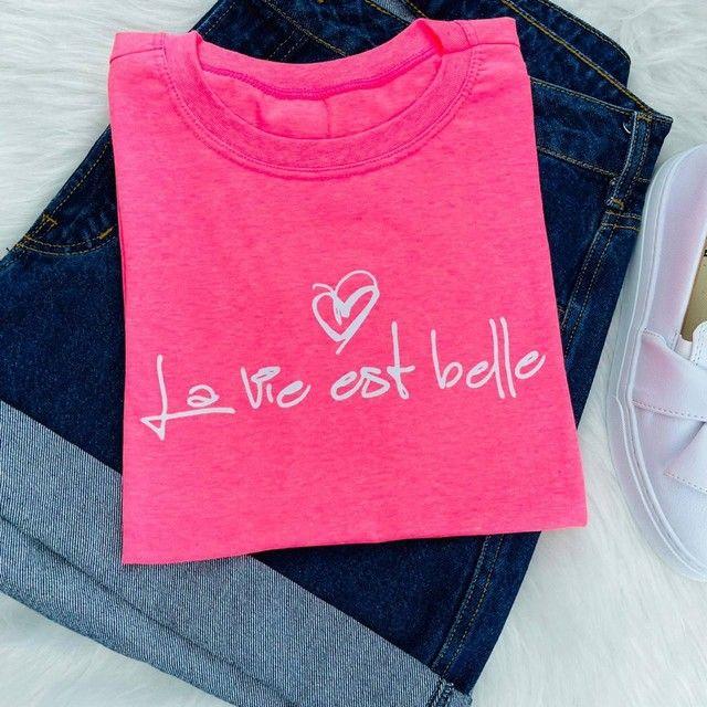 T-shirts femininas exclusivas (blusas) - Foto 3