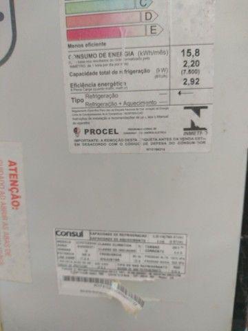 Ar condicionado 7500 BTUs - Foto 4