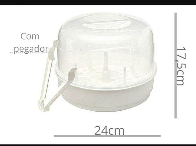 Esterilizador De Mamadeira Microondas Vapor Bebê Neopan<br><br>