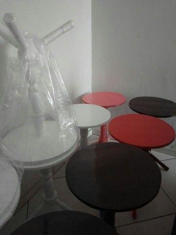 Mesas e cabideiro  - Foto 2