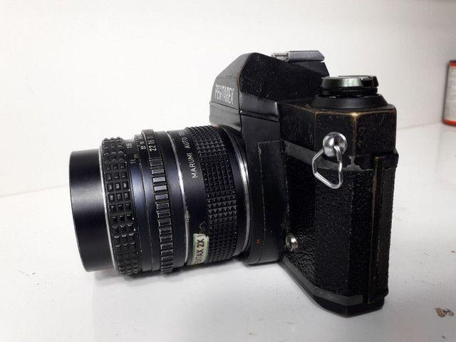 Câmera fotográfica antiga Pantarex  *aceito Cartão  - Foto 6