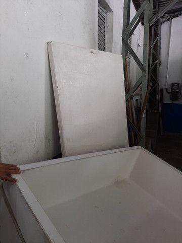 Caixa térmica 460 litros para uso em carroceria caminhonetes  - Foto 3