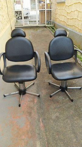 Cadeiras hidráulicas para salão - Foto 2