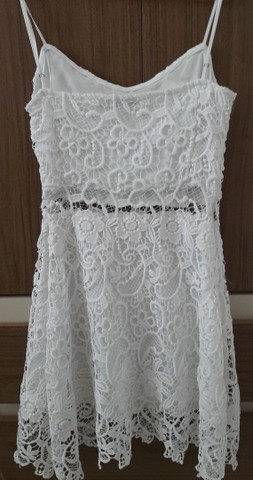 Vestido de guipir branco - Foto 2