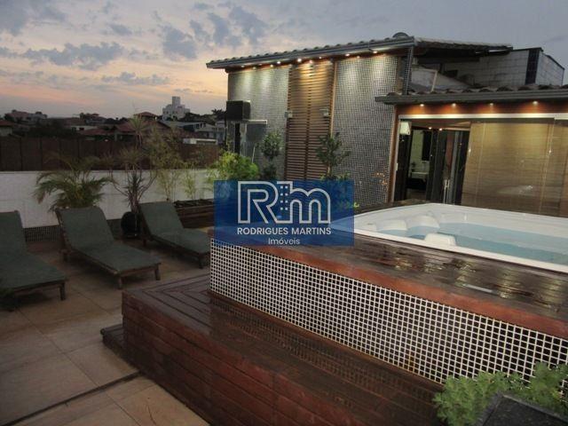 Cobertura à venda com 3 dormitórios em Serrano, Belo horizonte cod:3711