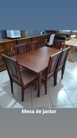 Mesa de jantar 6 cadeiras - Foto 3