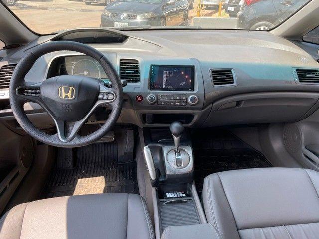 New Civic 1.8 LXS Automatico Unico Dono ACEITO TROCA - Foto 12