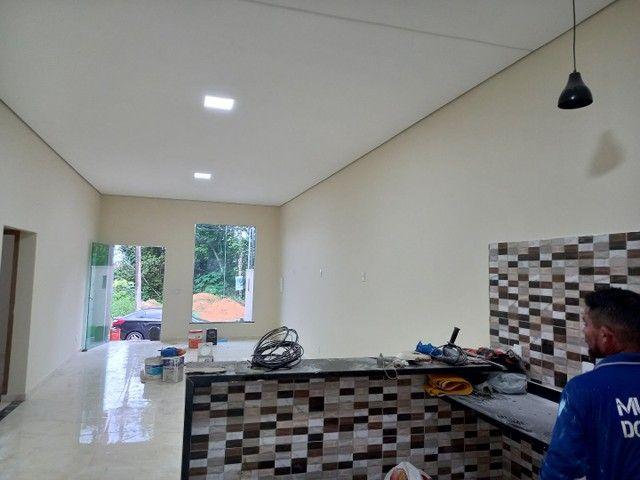 AV .Turismo Morada dos nobres casa nova 3 quartos sendo 1 suíte por apenas 350mil - Foto 6