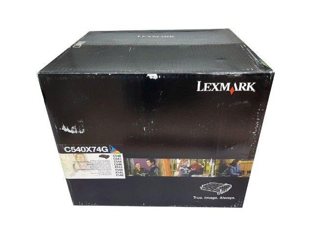 Fotocondutor Lexmark C540X74G Original Novo